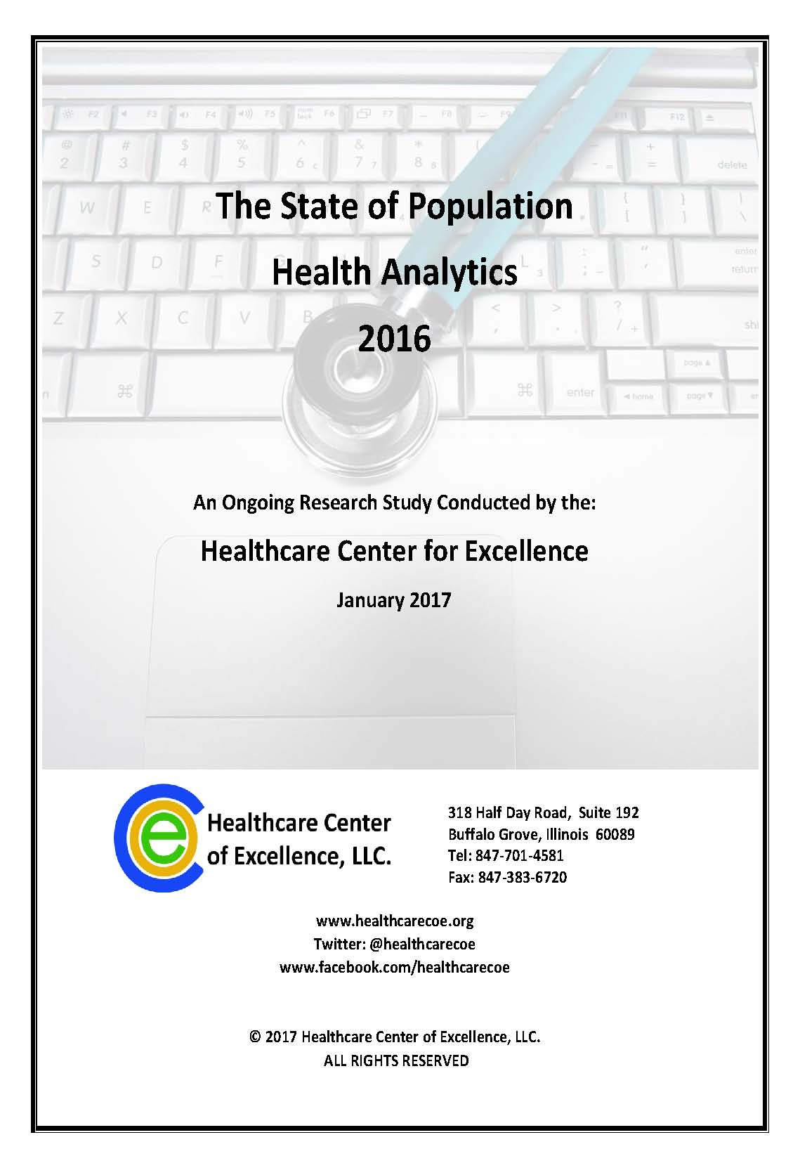 2016 State of Population Health Analytics Study