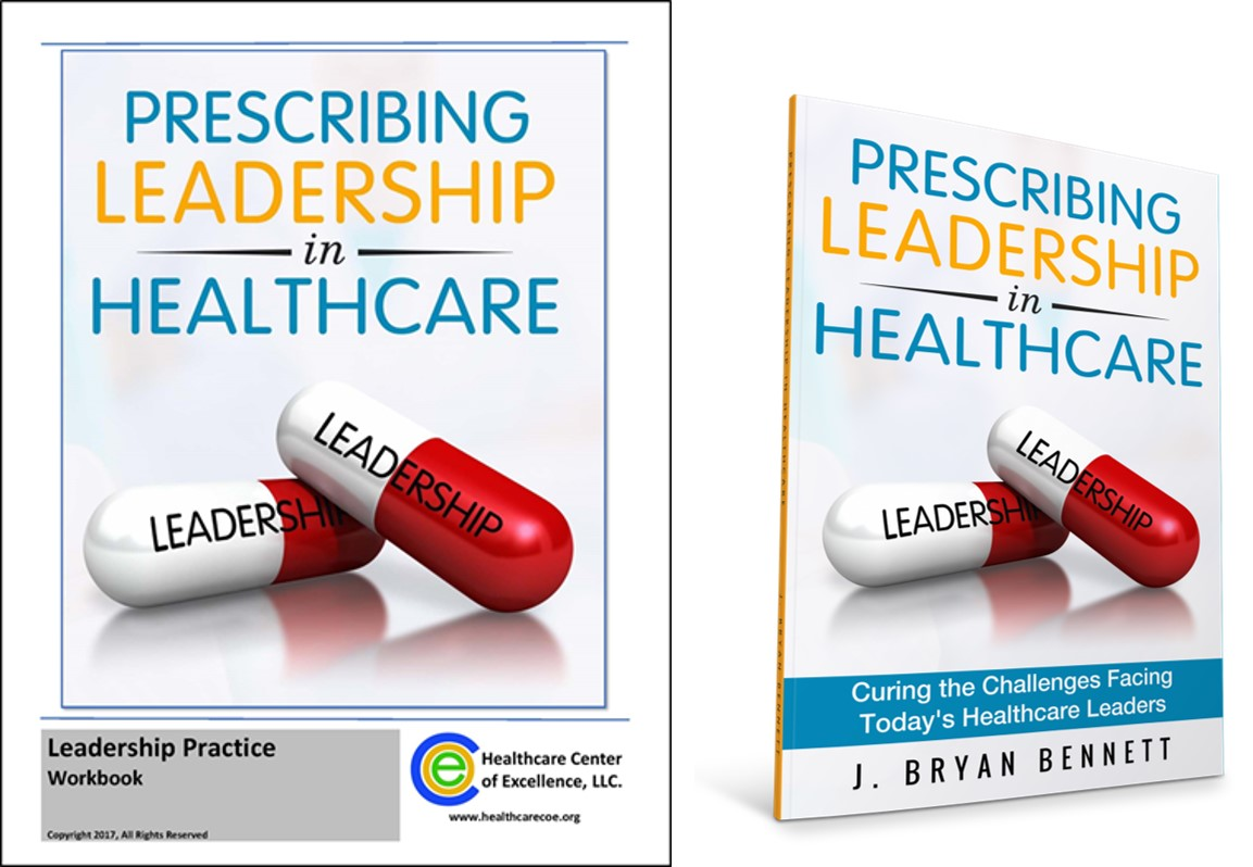 Prescribing Leadership in Healthcare Book and Practice Workbook Combo