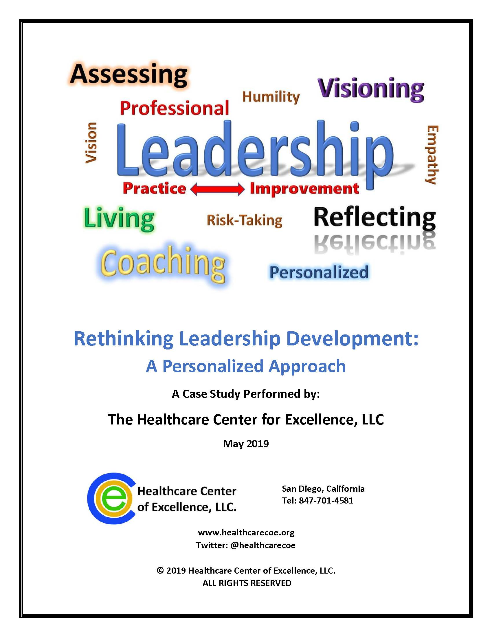 Rethinking Leadership Development: A Personalized Approach - A Case Study